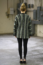 Dark Green Vintage Sweaters