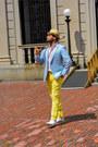 Leather-aldo-shoes-sky-blue-linen-brooksbrothers-blazer-cotton-h-m-shirt
