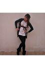 Gray-zara-jacket-white-t-shirt-black-zara-boots