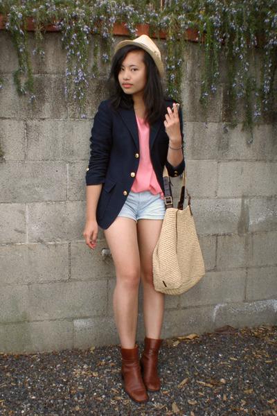 Ralph Lauren boots - Ralph Lauren blazer - Ralph Lauren purse