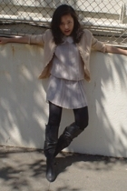 Alice  Olivia dress - wanko jacket - urban original boots
