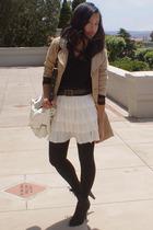 Nordstrom Rack coat - cutesygirl skirt - Urbanogcom shoes