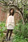 Vintage-dress-cutesygirl-skirt-enzo-angiolini-shoes