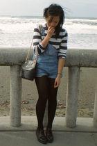 thrifted jeans - Nana UK shoes - Gap shirt