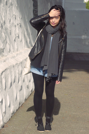 Gap jeans - thrifted blouse - Urban Outfitters jacket