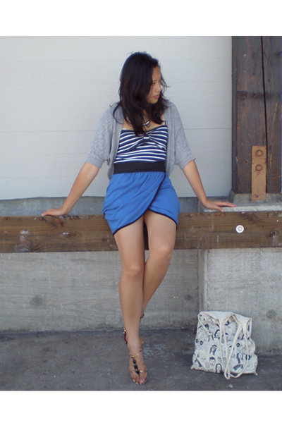 forever 21 top - cutesygirl skirt - Anne Klein shoes
