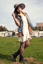 vintage dress - thrifted blazer