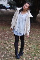 Wetseal blouse - JBandme boots - BB Dakota jacket