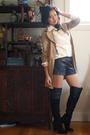 Emanuel-ungaro-blouse-dsw-boots-nordstrom-rack-coat