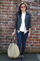 emanuel ungaro blouse - Urban Outfitters jacket