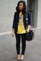 Ralph Lauren blazer - thrifted t-shirt - Wetseal pants - naturalizer shoes
