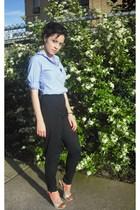 Gap blouse - Gap pants - Bakers shoes