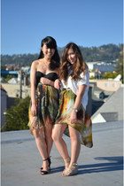 Sheinside dress - H&M top
