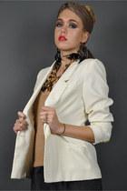 Wicked Plum Vintage blazer - Wicked Plum Vintage pants - Charlotte Russe vest -
