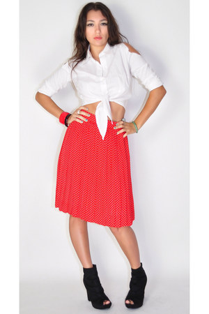 red Wicked Plum Vintage skirt