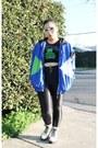 e49976b518ce28 ... Blue-windbreaker-bike-jacket-chartreuse-crop-top-forever- ...