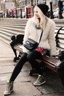 White-shearling-vintage-jacket-black-proenza-schouler-bag