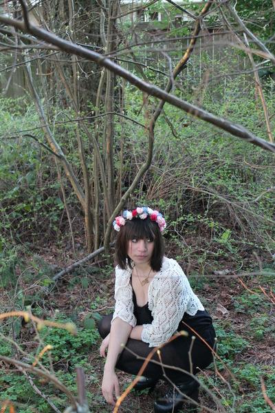 floral crown DIY hair accessory