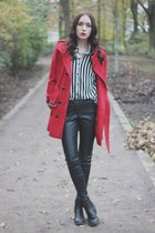 casual chic H&M coat