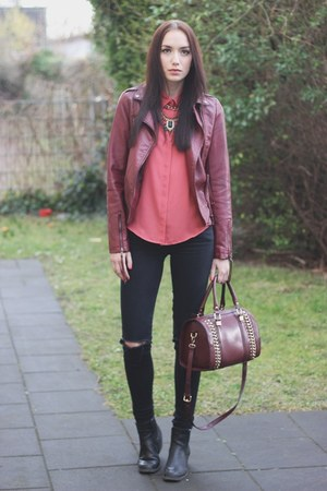 faux leather Primark jacket