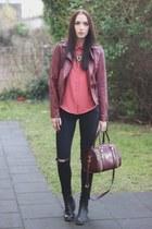 faux leather Primark jacket