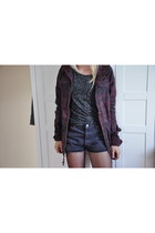 tribal print H&M jacket - Primark shirt - Episode shorts
