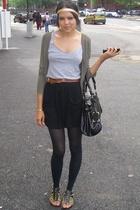 Customised Primark top  150 vest - Country Road sweater - Topshop 10 skirt - Aso