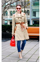 Mackage coat - See by Chloe boots - 7 for all mankind jeans - kate spade bag