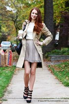 LAMB boots - Mackage jacket - Juicy Couture sweater - Club Monaco skirt