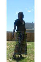 Forever 21 dress - Forever 21 shirt - Charolette Rousse shoes