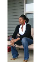 Old Navy cardigan - Express jeans - Steve Madden shoes