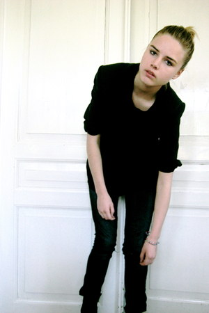 acne jeans - blazer