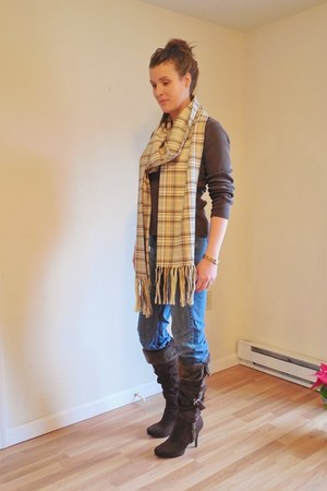Rue 21 boots - DNKY jeans