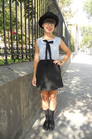 Zara shoes - kling dress - H&M hat