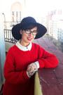 Massimo-dutti-hat-zara-jumper-h-m-blouse