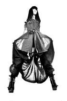 black RAYMOND CHOW jumper - black Bebe heels