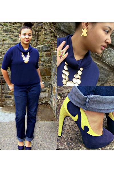 globe shoe republic LA heels - Venus Visuals earrings