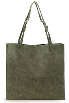 YOINS Structured Tote Bag In Green