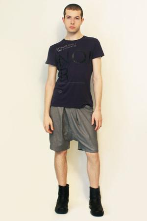 Zara t-shirt - Deep Style shorts - boots - belt