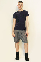 Zara t-shirt - Deep Style shorts - boots - belt