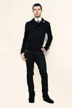 Zara shirt - Npfeel jacket - tokidoki accessories - Zara pants
