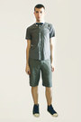 Silver-hanjiro-shirt-heather-gray-from-london-shorts-navy-vivienne-westwood-
