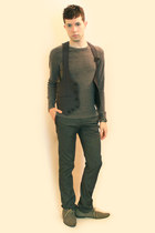 gray From Harajuku Tokyo vest - heather gray H&M shoes