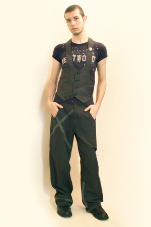 vivienne westwood t-shirt - From Harajuku Tokyo vest - pants - boots - Tanaka-sa