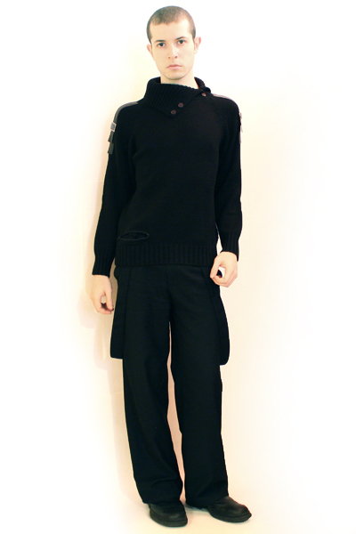 black sweater - black Misty Boy Harajuku pants