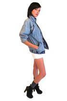 vintage NIKE from YO VINTAGE jacket - sam edelman boots