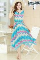 Blue-style-dress