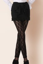 Elegant skirts mock two-piece leggings ghl4078