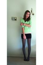 My moms shirt - - Target skirt - JC Penny shoes