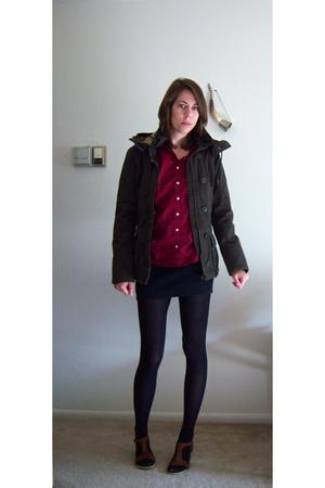 wallmart shirt - Target skirt - H&M jacket - TJ Maxx shoes